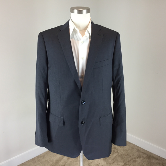 indochino Other - new Indochino 42 Charcoal Gray black suit WOOL